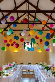 Large Coloured Paper Lanternsl