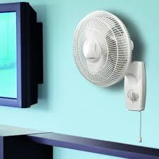 12 oscillating wall mount fan lasko
