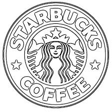 Sketch Of Logo Starbucks Coffee Drawing Anything Coffee In 2019