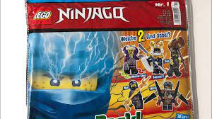 Lego Ninjago Power Pack Wundertüte Nr 1 2020 auspacken - YouTube
