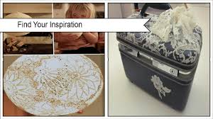 easy diy lace decoupage projects poster
