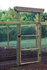 diy fences and gates diy mesh backyard gate for pets how to make easy