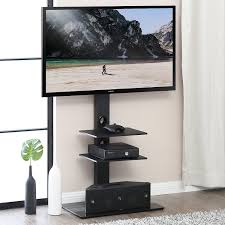 Tv stand and mount Ameriwood Fitueyes Swivel Floor Tv Stand With Mount For 32 To 65 Inche Tv Tt307001mb Fitueyes Fitueyes Swivel Floor Tv Stand With Mount For 32 To 65 Inche Tv