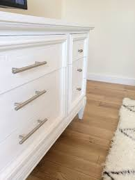 painting furniture whiteLiveLoveDIY How To Paint Furniture with Chalk Paint and how to