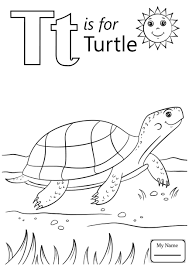Modest The Letter T Coloring Pages Awesome Gal 17629