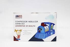 <b>AmRus Ингалятор</b> компрессорный <b>AMNB</b>-<b>502</b> паровозик ...