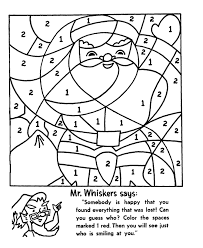 11 Color By Number Christmas Pages, Coloring Pages: Christmas ...
