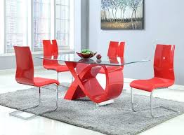 modern red dining chairs s modern red leather dining chairs