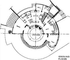 domestic spiral and cylindrical stairs spiral stairs Parent Trap House Plansranch Home Plans L Shaped figure 4 10a st anne's hill, chertsey, 1937, architect raymond mcgrath ground floor plan