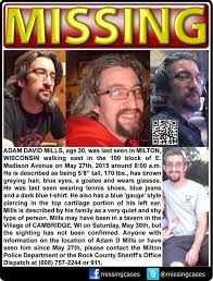 Please Help in the Search of Adam Mills - Home   Facebook