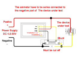 digital amp meter wiring diagram digital amp meter wiring diagram dc wiring diagram for 150cc go cart need wiring diagram for combo dc 100v 10a meter drok with digital amp