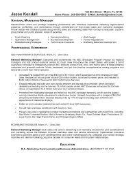 Marketing Director Resume Objective Dadaji Pertaining To