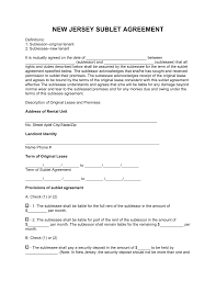 Apartment Sublease Template Sublease Agreement Sample Melo In Tandem Colet Contract Form Nova
