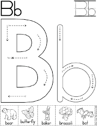 Letter B Worksheets Alphabet Letter B Worksheet Preschool ...