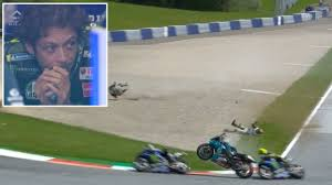Maybe you would like to learn more about one of these? We Could Be Writing Obituaries Right Now Valentino Rossi Cheats Death As Two Flying Bikes Miss Him By Inches After 200mph Crash Rt Sport News