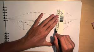 architectural house drawing. Plain House ARCHITECTURE  DESIGN 1 DRAWING A MODERN HOUSE 2POINT PERSPECTIVE   YouTube With Architectural House Drawing A