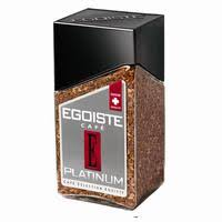 <b>Кофе растворимый Egoiste</b> Platinum 100 г (стекло) – купить ...