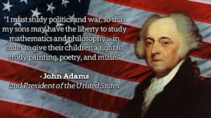 John Adams Quotes Magnificent John Adams On Education John Adams