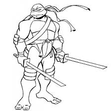 Small Picture Free Leonardo ninja turtles coloring page Superheroes Coloring