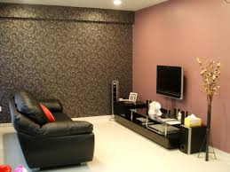 Paint Color For Living Room Simply Chic Living Room Design With Pink Wall Paint Color And