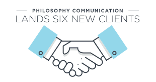 philosophy communication lands six new clients philosophy we are thrilled to welcome six new clients to the philosophy family working such a diverse client base keeps our team doing their best work