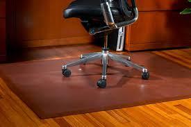 flooring desk chair mat for protect wood floors regarding hardwood floor from office idea 2