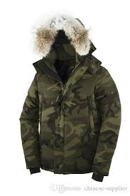 camouflage men s olive green camo parkas canadian winter coats 2018 down jacket men thick warm hooded tops coats with raccon furs down jacket winter jacket