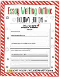 best christmas essay ideas tree essay step looking for an activity for your students to complete during the last few days before christmas break this holiday edition essay outline will help
