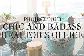 office offbeat interior design. Project Tour From Interior Designer Lesley Myrick - A Chic And Badass Realtor\u0027s Office In Waco Offbeat Design F