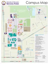 parking map  about uwsp  uwsp