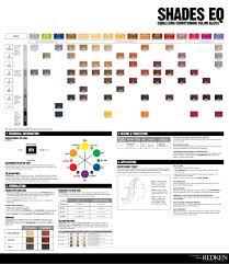 Redken Shades Eq Cream Color Chart Pdf Bedowntowndaytona Com