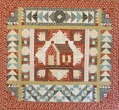 Quilting with Laura Ingalls Wilder, Little House on the Prairie ... & LINDA HALPIN'S QUILT USING ONE OF ANDOVER'S LITTLE HOUSE ON THE PRAIRIE®  FABRIC COLLECTIONS. Adamdwight.com