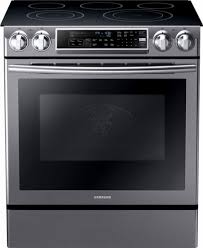 samsung black stainless stove. Beautiful Black Samsung  58 Cu Ft Electric SelfCleaning SlideIn Range With For Black Stainless Stove S