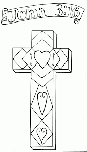 Small Picture Cross coloring page christian coloring picturing