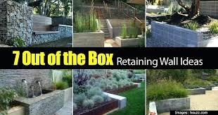 inexpensive retaining wall ideas landscaping wall ideas front garden wall ideas retaining wall ideas