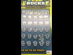 $20 $3 000 000 Jumbo Bucks Illinois Lottery Scratch f