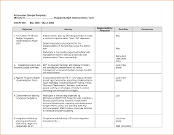 Sample Personal Action Plan 24 Sample Action Plan Template Teknoswitch 8