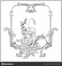 Zomerbloemen Klaproos Narcissen Anemone Violet In Botanische S