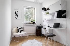 white office design. Scandinavian Home Office In White Is A Classic That Never Disappoints [ Design: Anton Tiilikainen Design