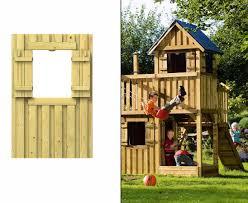 Spielturm Selber Bauen Mit Dem Fensterwand Element Aus Holz