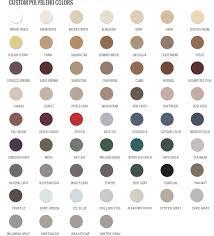 Leaf Color Chart For Sale Info Color Charts Grout Shield Grout Restoration System