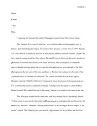 vietnam war essay vietnam war essay gxart digication eportfolio  comparing the vietnam war and the watergate scandal to the film comparing the vietnam war and
