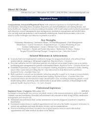 Resume Templates Detox Nurse Example Prepossessing Lpn Nursing