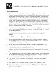 Scheduler Job Description Resume Medicaller Resumes Toreto Co Surgery Job Description For 1