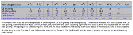 Merrell Vapor Glove Size Chart Images Gloves And