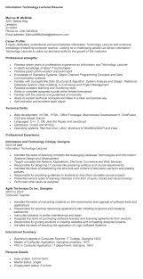 Lecturer Resume Sample Zoology Format For On Sample Lecturer Resu ...