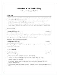 Professional Resume Template Microsoft Word Amazing Resume Examples Microsoft Word Fathunter