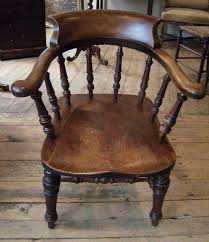 oak spindle back dining chairs antique captains chair th century fruitwood p with additional rustic tip