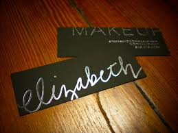 s unveil business card for a makeup artist