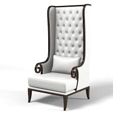 fancy tall accent chair with high back accent chairs luxury high back dining chair tufted